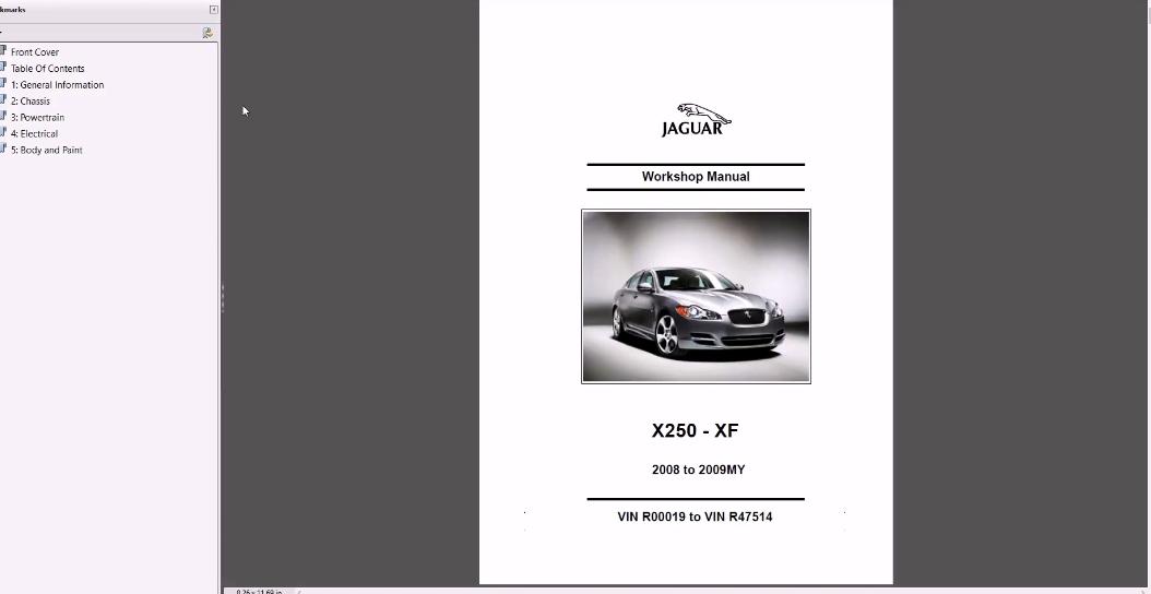 Jaguar Full Workshop Manual  1975-2017  - Homepage