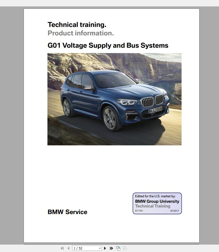 Bmw Technical Manuals