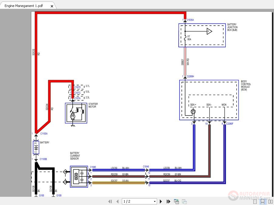 Ford Mustang 2015 3 7 Litre Engine Wiring Diagrams