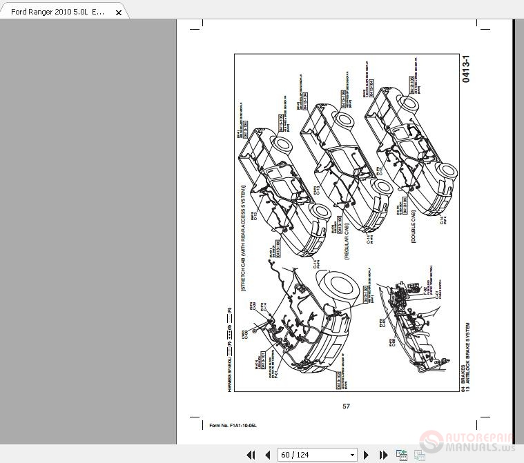 Ford Ranger 2010 5 0l Electrical Wiring Diagrams - Homepage