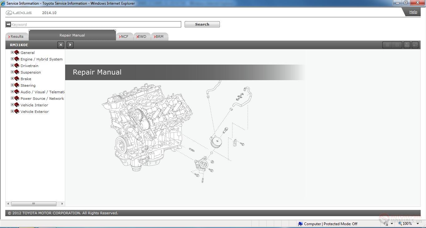 lexus nx200t gisc workshop manual 2014 - homepage
