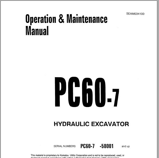 Komatsu Hydraulic Excavator Galeo Pc78mr