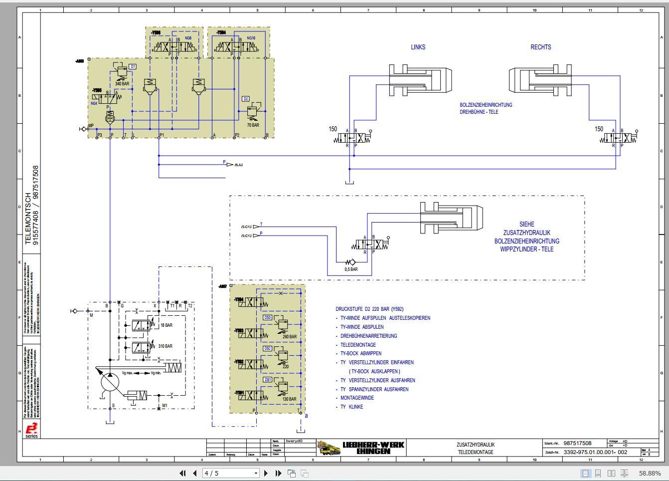 Liebherr Crane Schematic Wiring Diagram Cd3