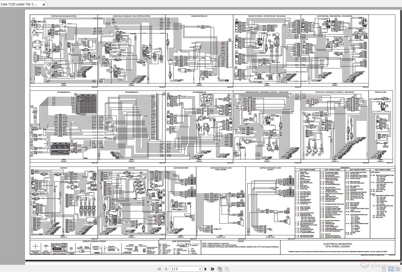 Case 721e Loader Tier 2 Wiring Diagrams - Homepage