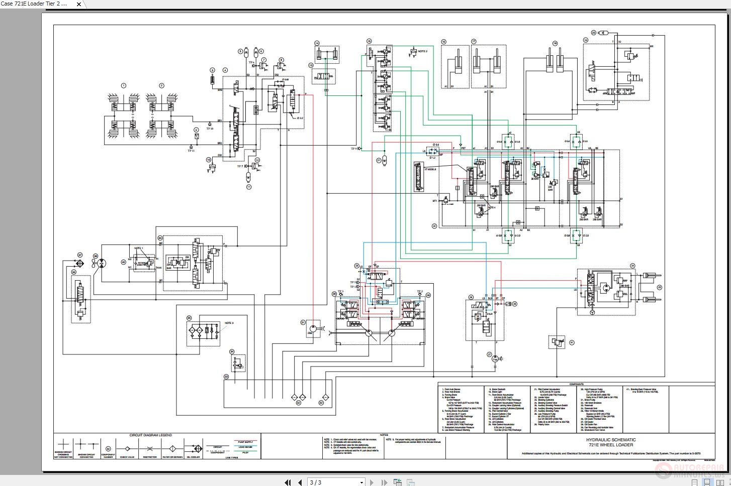 Case 721e Loader Tier 2 Wiring Diagrams - Homepage