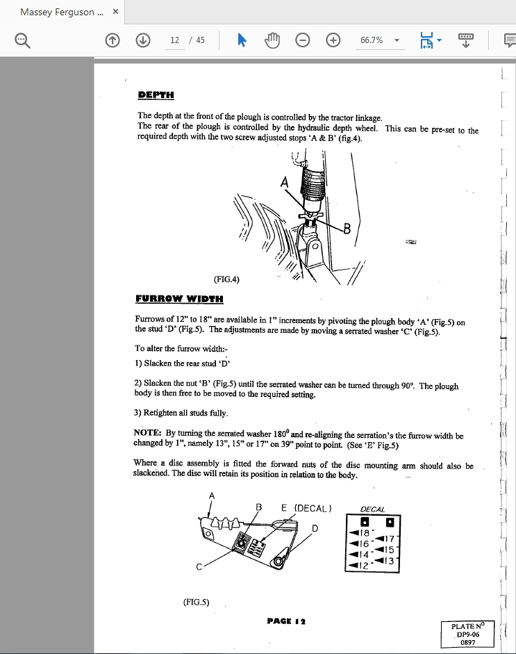 Massey Ferguson Dp9 Parts Catalog Manual - Homepage