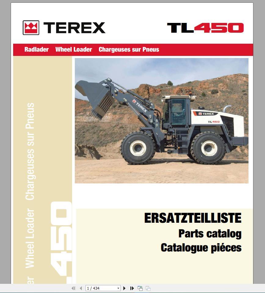 Terex Skl - Tl Wheel Loaders Parts Manual - Homepage