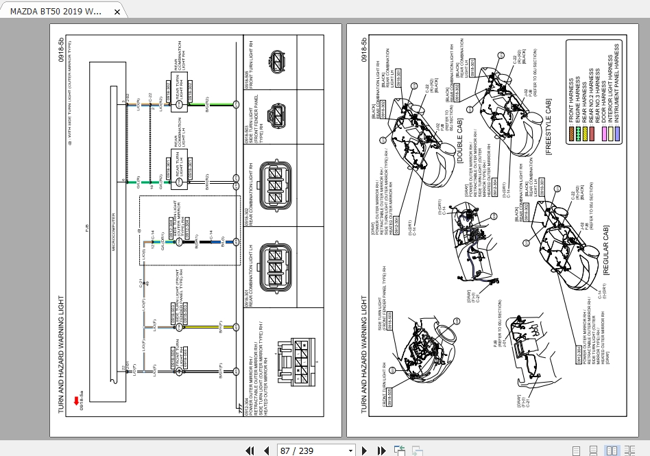 Diagram  Mazda Bt 50 Workshop Wiring Diagram Full Version