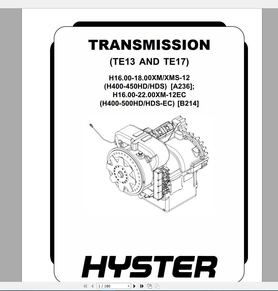 Hysterforkliftclassrepairmanuals Archives - Homepage