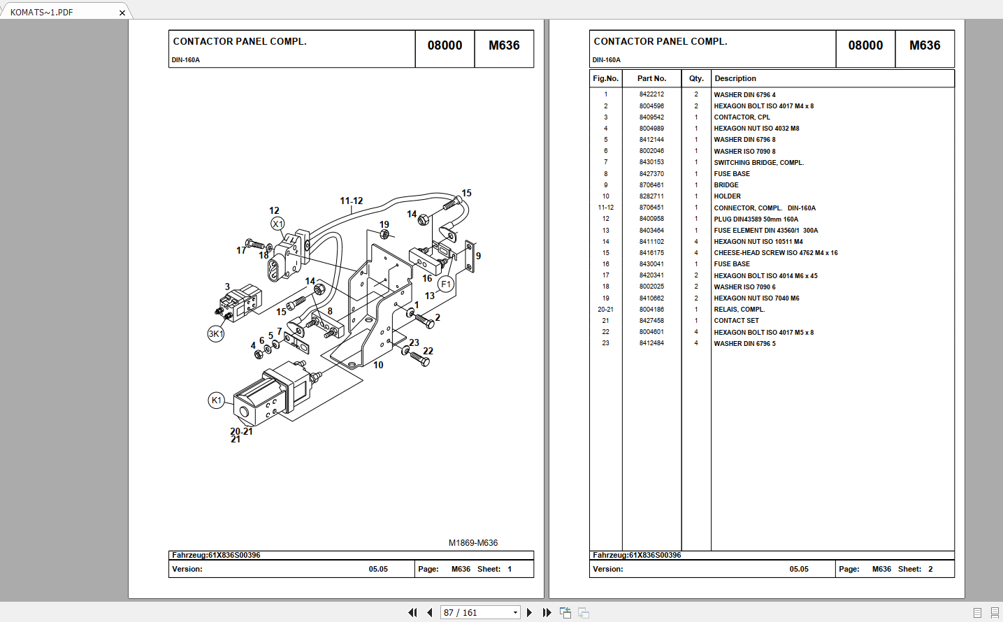 Komatsu Forklift Fb12 15 M G Mg  18 M  20 M -2r  Mws Mwp Mwq Parts Catalog Cds - Homepage