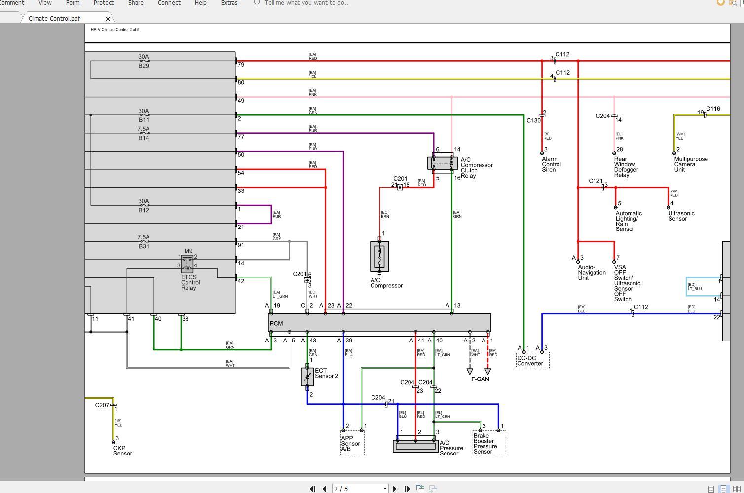Honda Hr-v 2020 Electrical Wiring Diagram - Homepage
