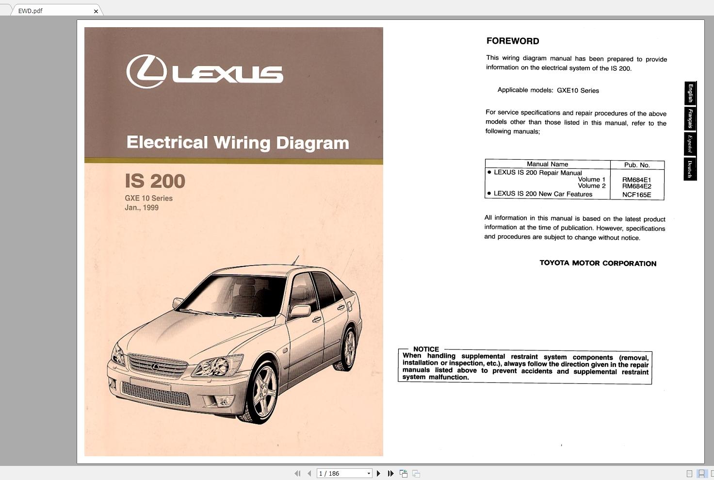 DIAGRAM] Lexus Is200 Wiring Diagrams Pdf FULL Version HD Quality Diagrams  Pdf - FINDIAGRAM.PRAGA-HAITI.FRPraga-Haiti