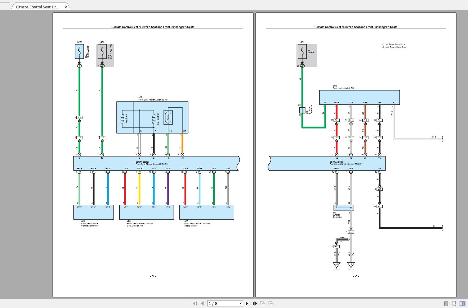 Lexus Lx570  2010  Electrical Wiring Diagram - Homepage