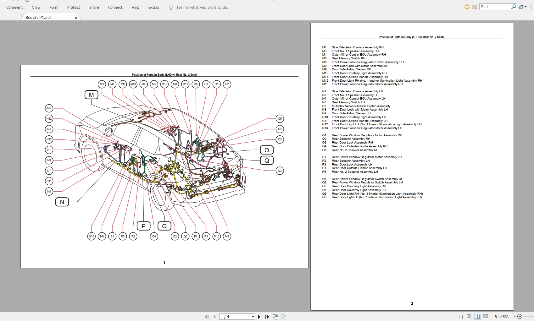 Lexus Rx200t  Rx300  Rx350  Rx350l  2017 12  Electrical Wiring Diagram - Homepage