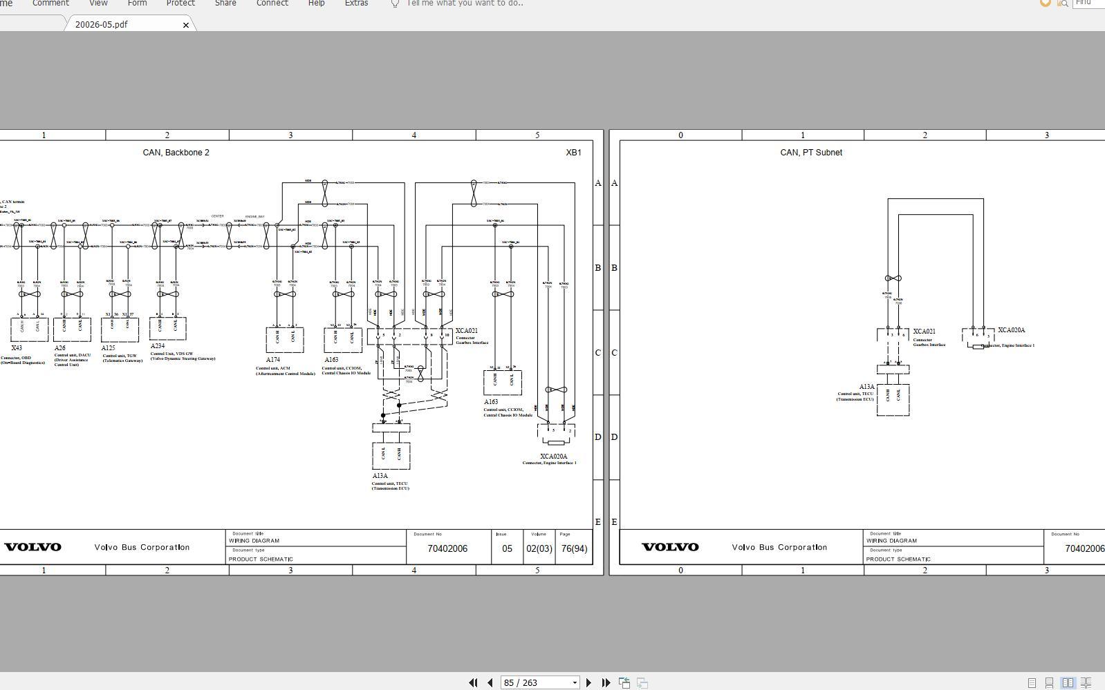 Volvo B11r  3  Trucks Service Manual Buses  U0026 Wiring Diagrams - Homepage