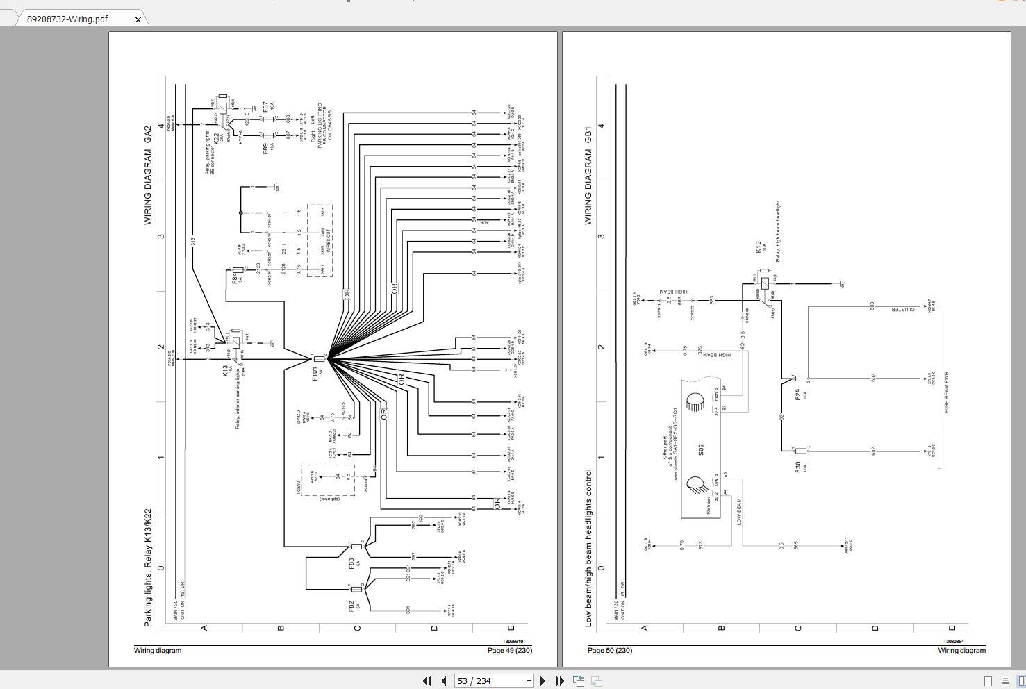 Volvo Fe  3  Trucks Service Manual Buses  U0026 Wiring Diagrams
