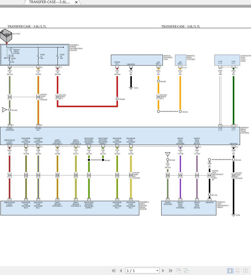 Dodge Ram 1500  Ds  2017 Plus Electrical Wiring Diagrams - Homepage