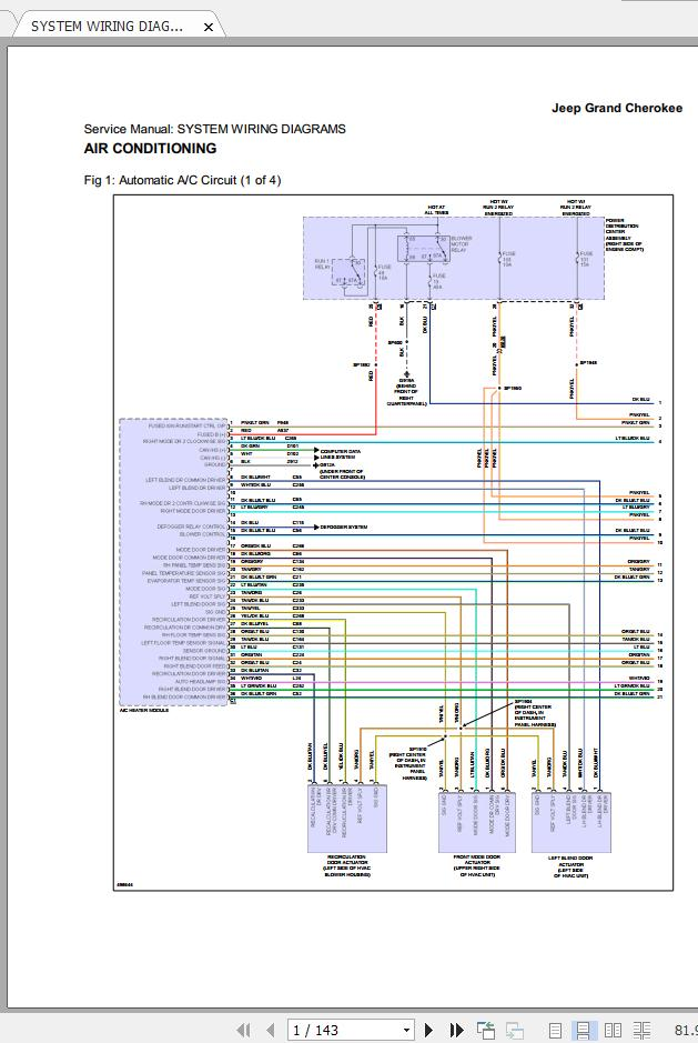 Jeep Grand Cherokee Wk2 2014-2016 Workshop Manual  U0026 Wiring Diagram - Homepage