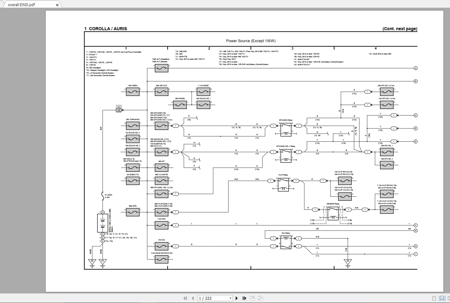1986 Toyota Corolla Service Manual And Wiring Diagram