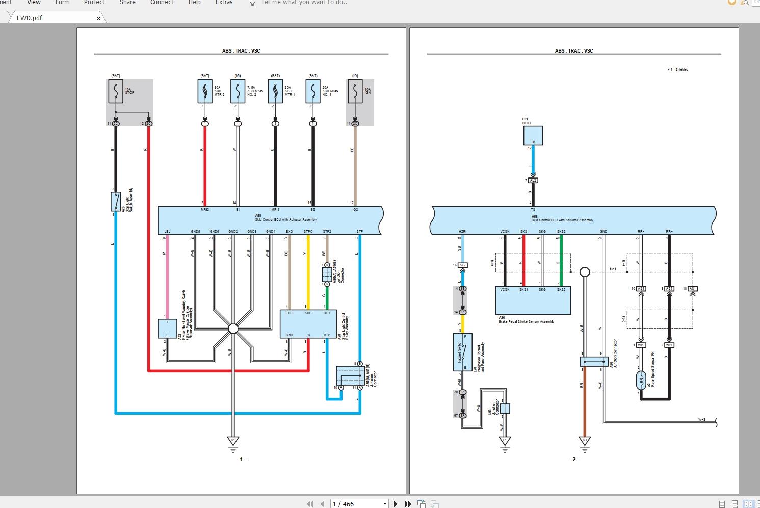 Toyota Prius  2010  Electrical Wiring Diagram  U0026 Repair