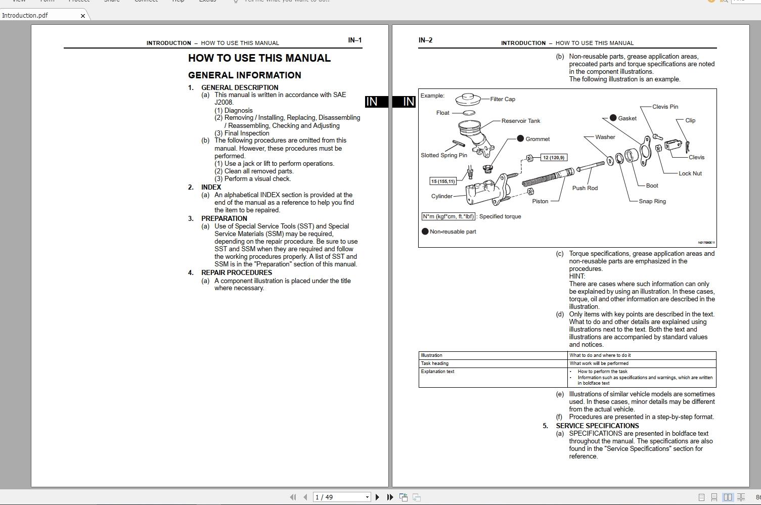 Toyota 86  2015 04  Workshop Service Manual - Homepage