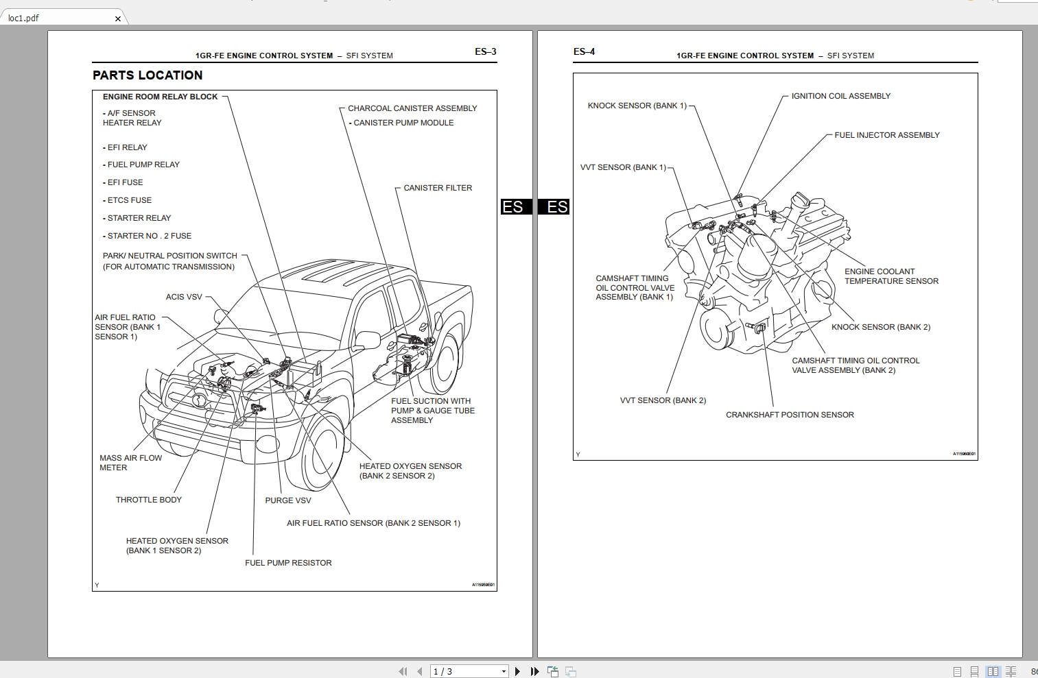 Toyota Tacoma  2007  Electrical Wiring Diagram