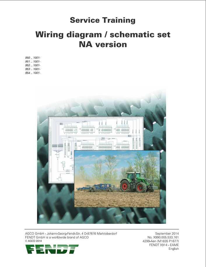 Fendt 900 Vario S4 Tractors Wiring Diagram 72614890 - Homepage