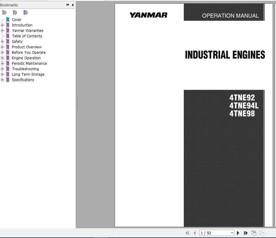 Yanmar Marine Engines 3jh