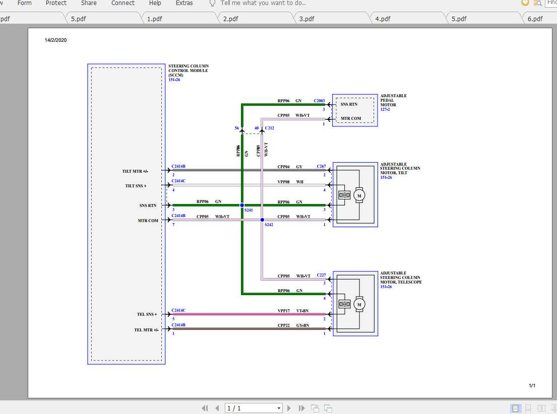 Ford Explorer 2015 Electrical Wiring Diagram - Homepage ...