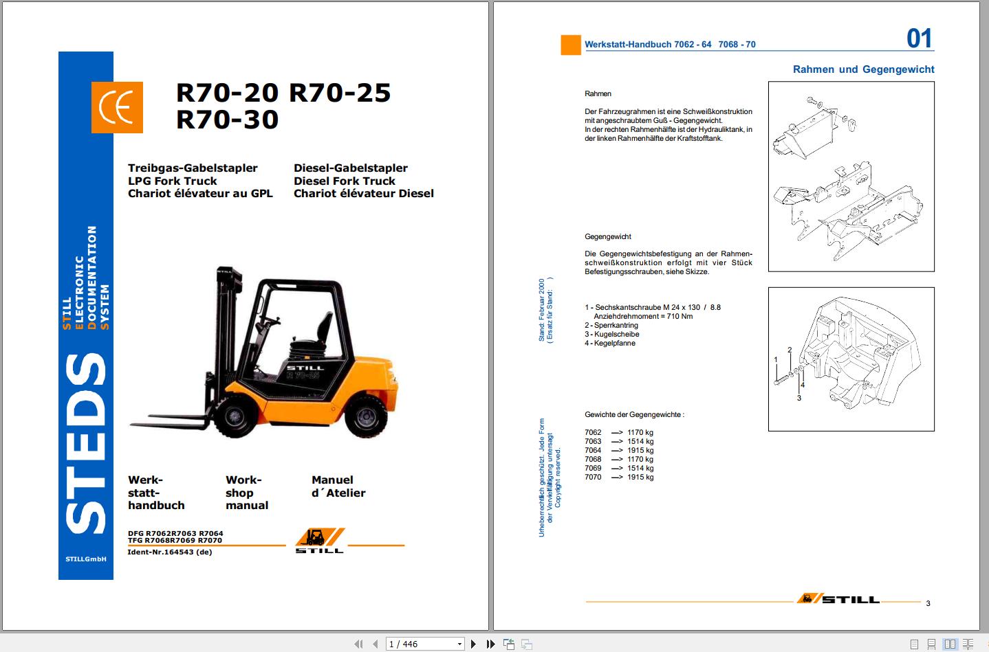 Still Sted Forklift 21 3 Gb Pdf Update 2020 German