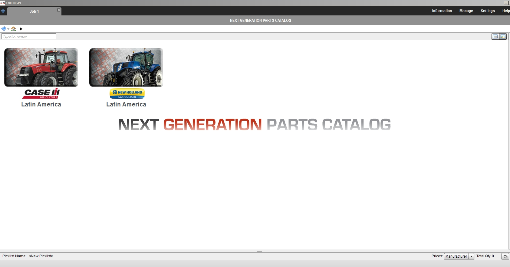 CNH New Holland Case IH AG Latin America EPC Combo Spare Parts Catalog DVD [02.2021]